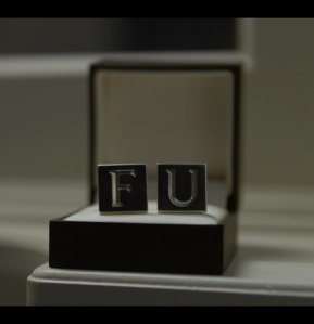 F.U. Frank's Birthday Cufflinks